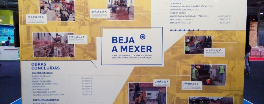 Stand da EMAS na Ovibeja realça obras da Pinto&Braz