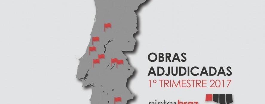Obras adjudicadas à Pinto&Braz - 1º trimestre 2017