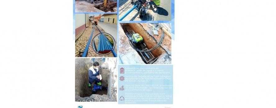 """Empreitada de """"Substituição de condutas de abastecimento de água no âmbito do POSEUR"""""""